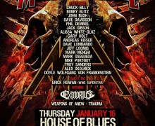 Drummer Dave Lombardo @ NAMM 2020 – House of Blues Anaheim w/ Metal Allegiance