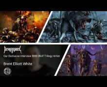 Artist Brent Elliott Talks Death Angel Album Covers – Wolfie – VIDEO