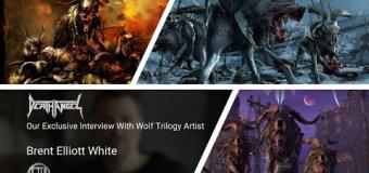 Artist Brent Elliott Talks Death Angel Album Covers – Wolfie – VIDEO