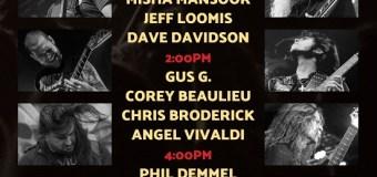 "Gus G, ""I'll Return to the NAMM Show in 2020"" w/ Corey Beaulieu, Chris Broderick & Angel Vivaldi"