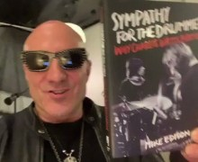Kenny Aronoff: 'Sympathy for the Drummer' VIDEO Book Review – Why Charlie Watts Matters by Mike Edison