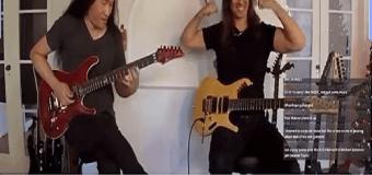 Kiko Loureiro vs Herman Li – Guitar Improvisation 🎸