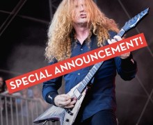 "Megadeth Teases ""Special Announcement"" 2019"