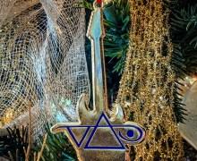 Steve Vai Christmas Ornament