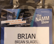 Brian Slagel:  Here We Go @ The NAMM Show 2020