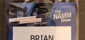 Brian Slagel:  Here We Go @ The NAMM Show 2020