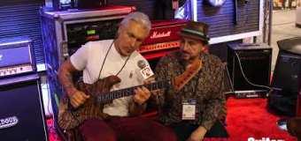 George Lynch Floyd Rose Tremolo With Stone Tone Rock Block Demo | NAMM 2020 – Mr. Scary Guitars