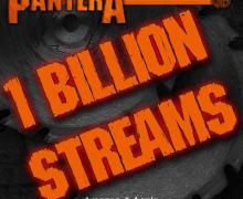 Pantera Hits One Billion Streams