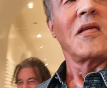 Stallone Introduces Pacino to Fieri – VIDEO