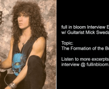 Bulletboys Guitarist Mick Sweda Talks How The Band Formed After King Kobra+Gene Simmons – Interview Excerpt