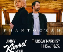 Phantogram on Jimmy Kimmel Live 2020