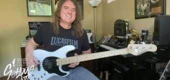 "David Ellefson: Megadeth ""Trust"" Bass Lesson – VIDEO"