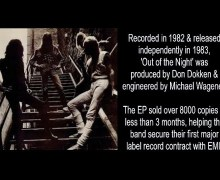 Great White Guitarist Talks 1983 'Out of the Night' EP/On Your Knees, Michael Wagener -Mark Kendall Interview Excerpt