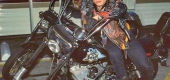 "Billy Idol's ""Boneshaker"" Motorcycle on Display @ Rock & Roll Hall of Fame"