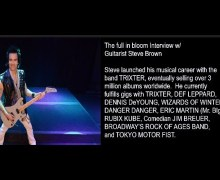 Trixter's Steve Brown Talks New Tokyo Motor Fist 2020 Album, Ray Gillen, Mutt Lange, Def Leppard – full in bloom Interview