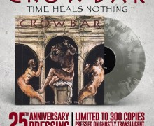 Crowbar 'Time Heals Nothing' 25th Anniversary Pressing Vinyl/LP