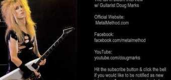 Guitarist Doug Marks Talks Metal Method, Hawk, Michael Angelo Batio, The Guitar Lesson Business – The full in bloom Interview 2020