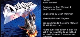 Don Dokken Talks Tom Werman/George Lynch Tension, Working with Michael Wagener & Roy Thomas Baker on 'Tooth and Nail'