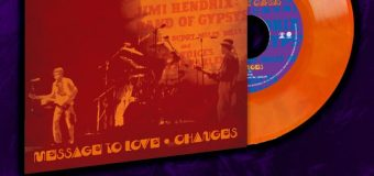 "Jimi Hendrix: BAND OF GYPSYS 7″ Orange-Swirl Colored Vinyl Single Record Store Day 2020 w/ ""Message To Love"" & ""Changes"""