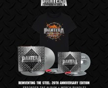 Pantera: 'Reinventing the Steel' 20th Anniversary Edition 3 CD / Digital / 2 LP Versions Available