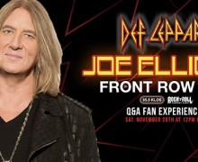 Def Leppard: Joe Elliott Live Online & Interactive Q&A 2020 via Zoom – TICKETS