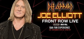 Def Leppard: Joe Elliott Live Online & Interactive Q&A 2020 via Zoom – TICKETS