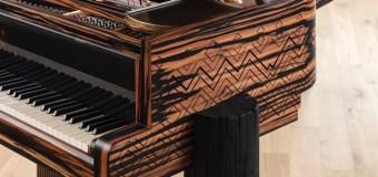 Lenny Kravitz Designs Limited Edition Steinway Piano