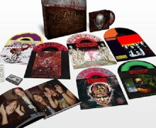 Kreator 'Under the Guillotine' Deluxe Box Set – Vinyl/LP – DVD – 2 CD – Cassette
