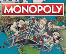 Metallica Monopoly World Tour Edition