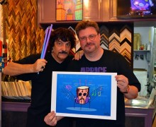 Carmine Appice Drum City Virtual Exhibition – Autographed Limited Edition Lithographs w/ Ed Heck
