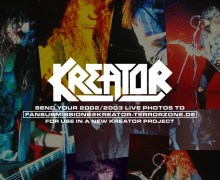Kreator: Looking For Live Photos From 2002/2003 For New Project