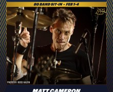 Soundgarden/Pearl Jam Drummer Matt Cameron to Sit In w/ The 8G Band on Late Night with Seth Meyers – 2021