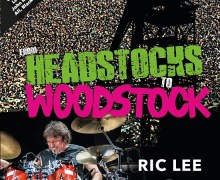 Ten Years After Drummer Ric Lee Pens Autobiography 'From Headstocks to Woodstock' – Book News – 2021