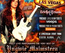 """Yngwie Malmsteen Live Stream Concert – Performing """"The Very Best Of"""" in Las Vegas – Livestream Event – 2021"""
