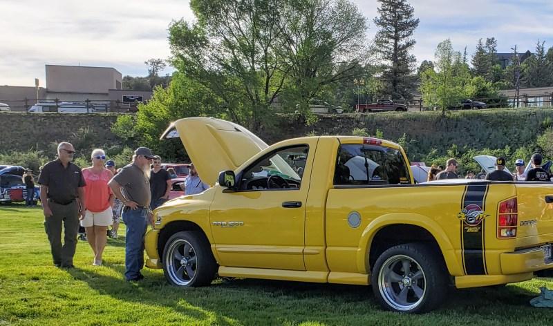 Yellow Dodge Ram 1500 R/T