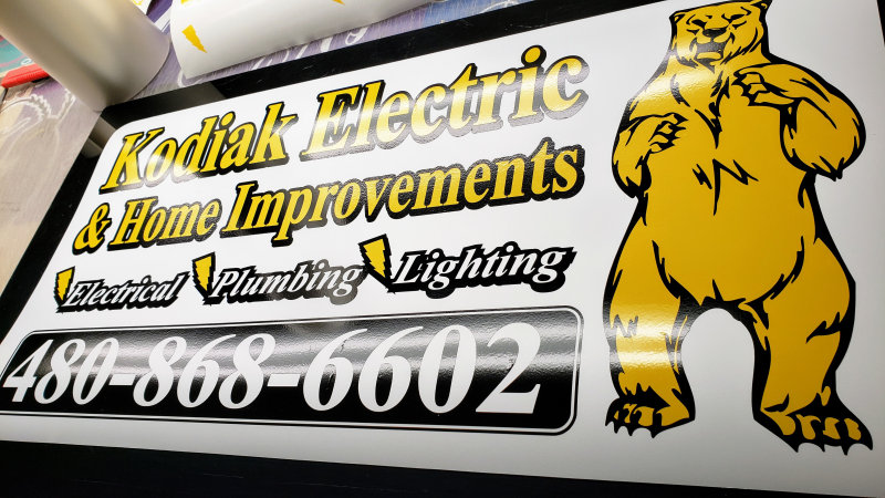 magnetic signs for electrician