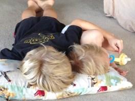 My two blondies.