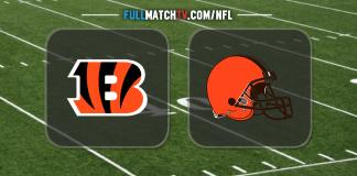 Cincinnati Bengals vs Cleveland Browns