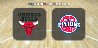 Chicago Bulls vs Detroit Pistons