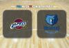Cleveland Cavaliers vs Memphis Grizzlies