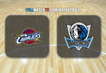 Cleveland Cavaliers vs Dallas Mavericks
