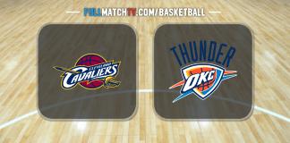 Cleveland Cavaliers vs Oklahoma City Thunder