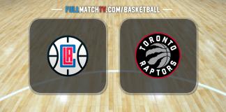 Los Angeles Clippers vs Toronto Raptors