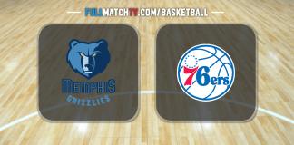 Memphis Grizzlies vs Philadelphia 76ers