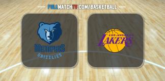 Memphis Grizzlies vs Los Angeles Lakers