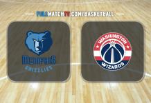 Memphis Grizzlies vs Washington Wizards
