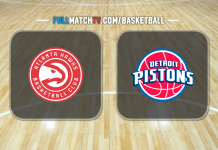 Atlanta Hawks vs Detroit Pistons