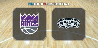 Sacramento Kings vs San Antonio Spurs