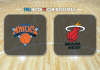 New York Knicks vs Miami Heat
