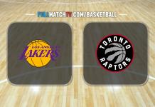 Los Angeles Lakers vs Toronto Raptors